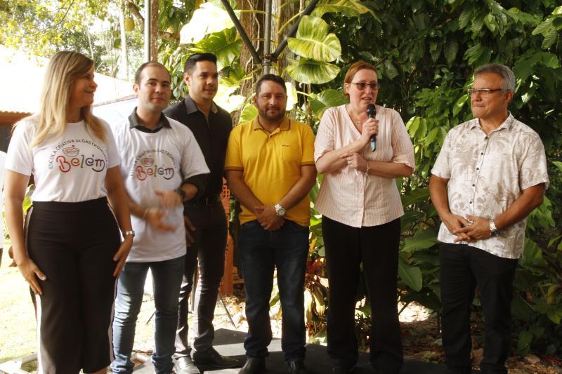 Depois de Belém receber o título de Cidade Criativa da Gastronomia, havia o compromisso de entregar a escola de gastronomia à população