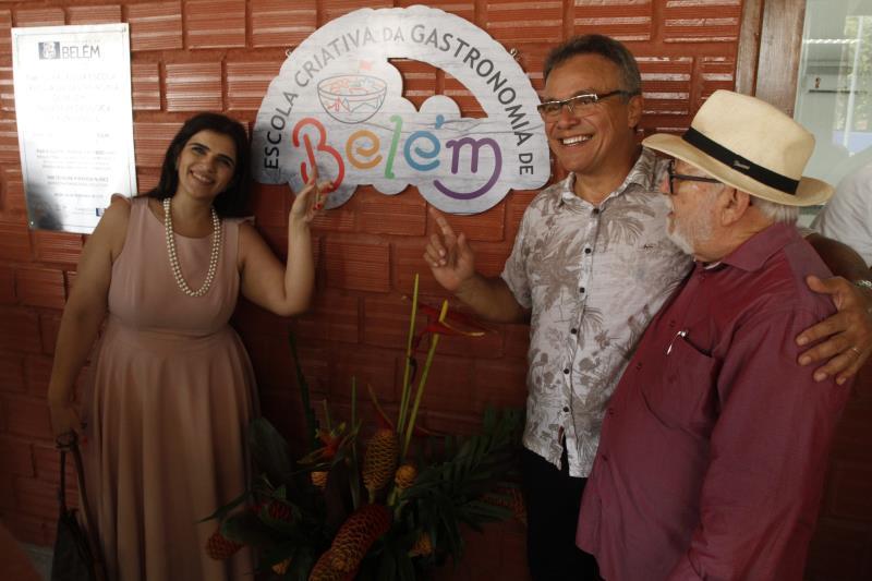 A Escola Criativa de Gastronomia, na ilha de Outeiro, será voltada para a mão de obra local