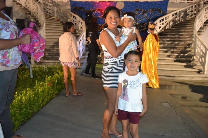 Lucidalva Barros, moradora de Icoaraci, gostou tanto que disse que levará a família e a vizinhança para as apresentações