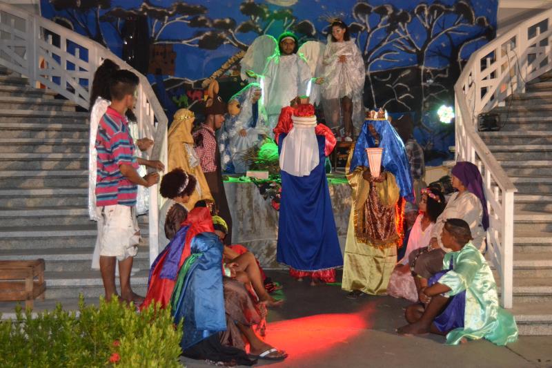 """A peça """"Um Natal na Rua de Belém"""" será apresentada até o próximo dia 20"""