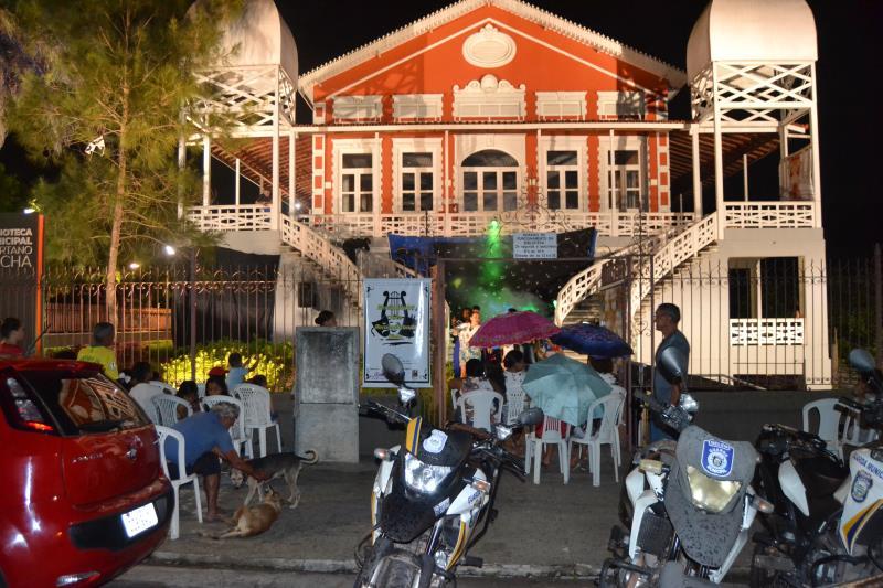 Na noite desta terça-feira, 10, a Biblioteca Municipal Avertano Rocha em Icoaraci foi o palco para mais uma noite de apresentação do espetáculo