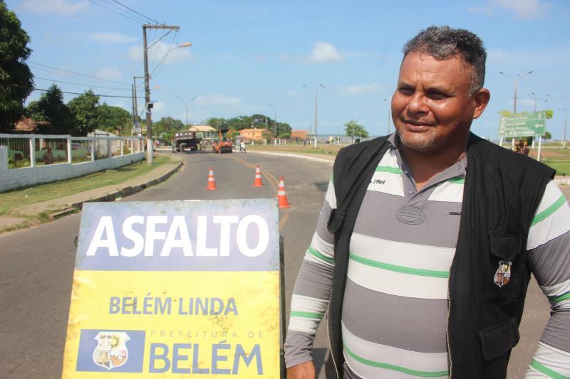 O servidor público Marcos Lemos, nasceu e cresceu na ilha de Outeiro. Para ele, ver o crescimentos do distrito e os investimentos aplicados mostram o compromisso da gestão municipal com a ilha