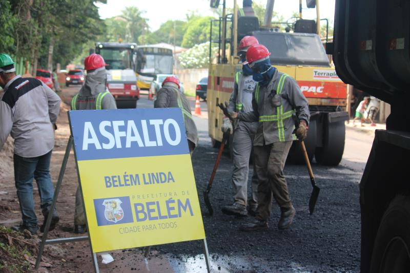 Nesta quarta-feira, 11, foi dado andamento a uma das obras de mobilidade mais importantes para a trafegabilidade na ilha: a pavimentação da avenida Nossa Senhora da Conceição