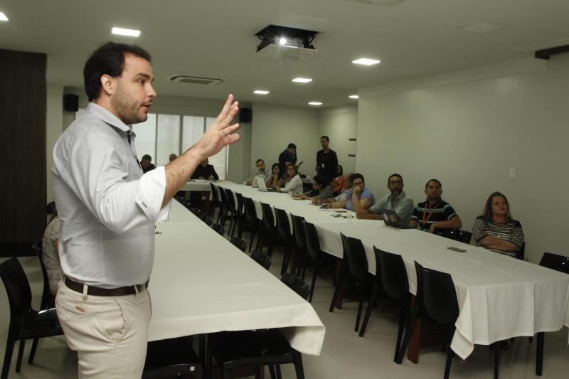 O presidente da Codem, Danilo Soares, apresentou o cronograma de eventos previstos para o ano de 2020, que envolve uma série de ações nas feiras públicas da avenida Rômulo Maiorana e do Ver-o-Peso