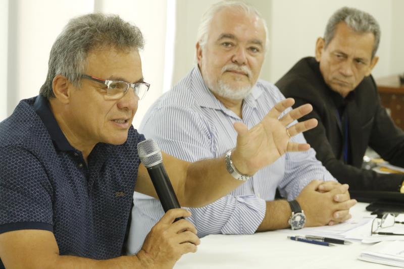 Na manhã desta terça-feira, 17, o prefeito Zenaldo Coutinho participou da última sessão ordinária do Conselho Municipal de Turismo de Belém (Comtur), realizada na sede da Federação do Comércio do Estado do Pará (Fecomércio)