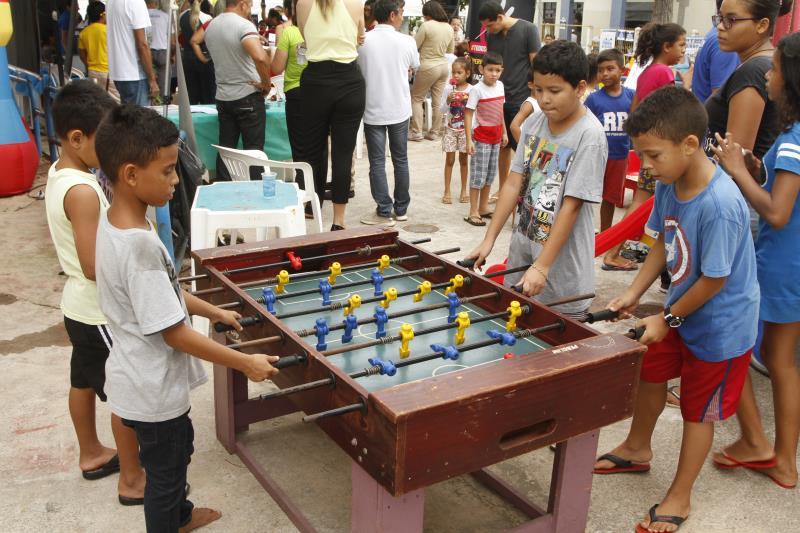 A Secretaria Municipal de Esporte, Juventude e Lazer (Sejel) levará programa Brinca Belém, com brincadeiras e prática de esportes