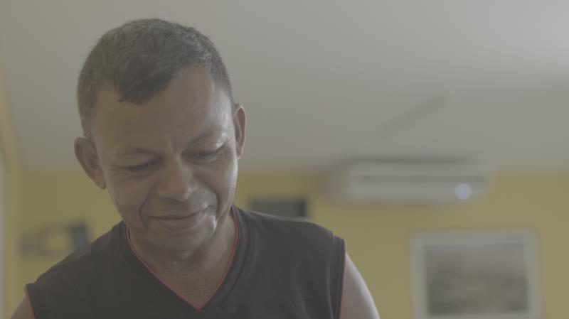 Antônio Eduardo mora na rua há 28 anos, desde a morte do pai, e conta com o atendimento proporcionado pela Funpapa
