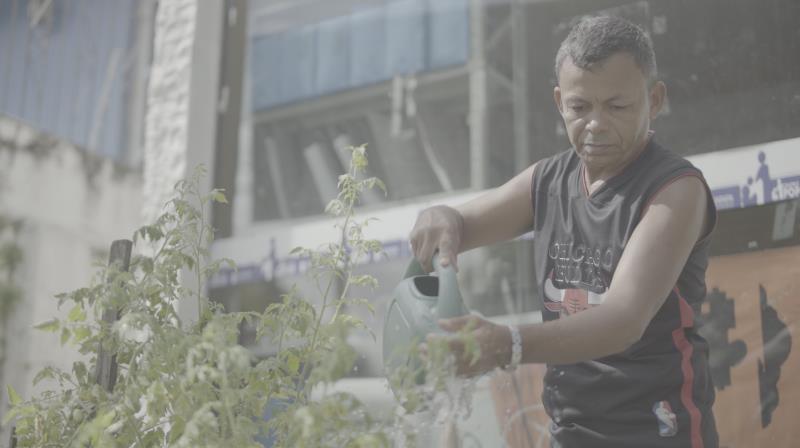 Antônio Eduardo Oliveira é uma das 1.274 pessoas em situação de rua em Belém que foram atendidas de janeiro a agosto deste ano nos quatro espaços de acolhimento da Funpapa