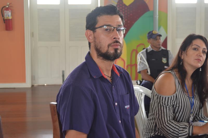 """""""É de suma importância que os órgãos organizadores estejam reunidos para definir o que será feito e analisar o que ocorreu na programação passada"""", disse o representante da Agência de Navegação, o agente marítimo Michel Alencar"""