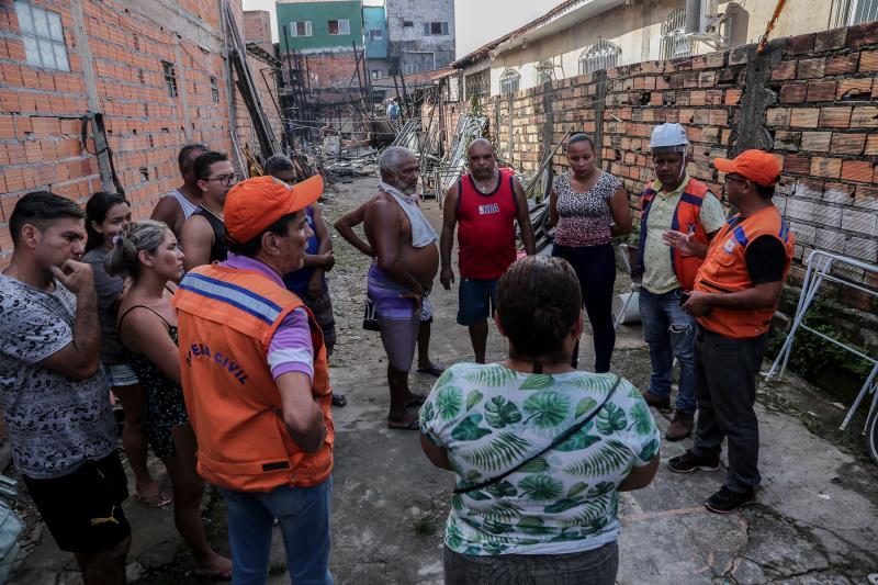 A Prefeitura de Belém, por meio da Funpapa e da Defesa Civil Municipal, iniciará uma ação para prestar auxílio às famílias vítimas do sinistro