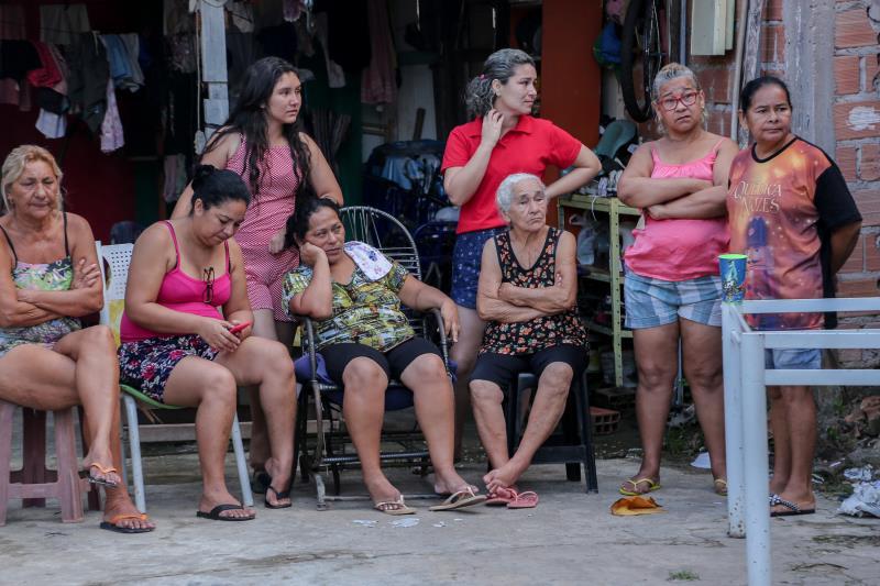 Servidores da Funpapa estão auxiliando as famílias vítimas do acidente, com atendimento individualizado