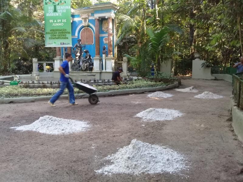 O Jardim Zoobotânico da Amazônia Bosque Rodrigues Alves já está recebendo investimentos de recuperação, com valores acima de R$ 1 milhão, e prazo de 12 meses para finalização