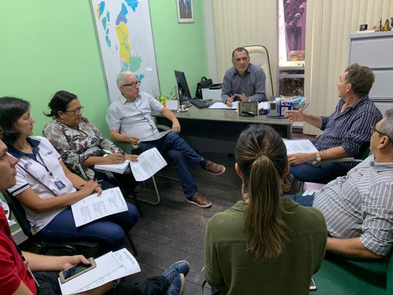 Reuniões do titular da Semma, Pio Neto, com  a equipe técnica, para planejamento de ações anuais são uma constante na Secretaria