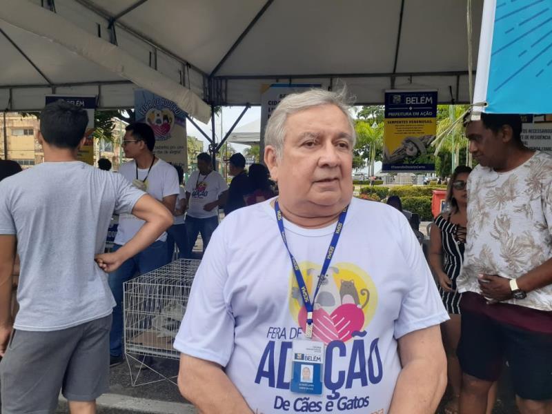 Altevir Lopes, gerente do Centro de Controle de Zoonoses.