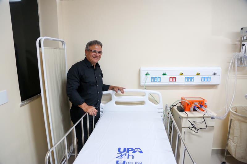A UPA João Menezes teve investimentos de mais de R$ 7 milhões e irá atender cerca de dez bairros