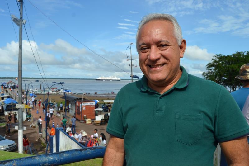 """""""O turismos traz crescimento para nosso distrito de Icoaraci"""", disse Edson Silva, titular da Adic"""