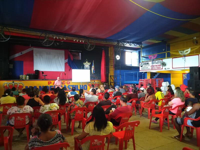 Além da revitalização do espaço pela Prefeitura Municipal de Belém, por meio da Seurb, os trabalhadores que atuam no Complexo do Jurunas estão recebendo o programa Sala do Empreendedor da Secon, que promove cursos de qualificação profissional