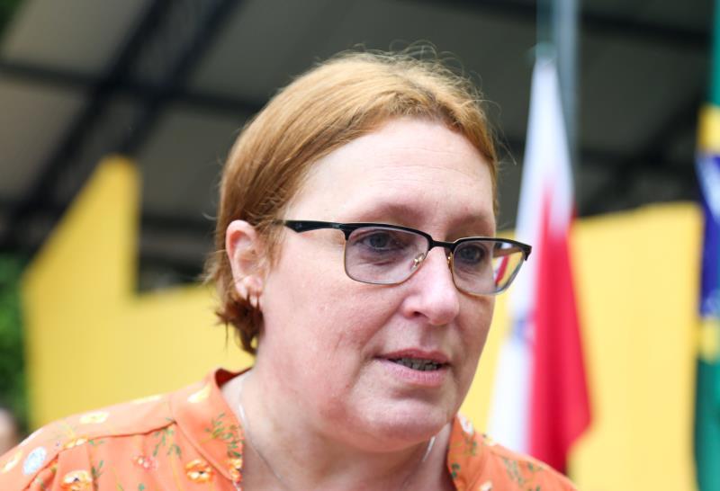 Beatriz Padovani falou sobre a satisfação em ver a reforma de vários espaços da Escola Bosque ser entregues