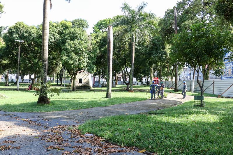 Praça D. Pedro II.
