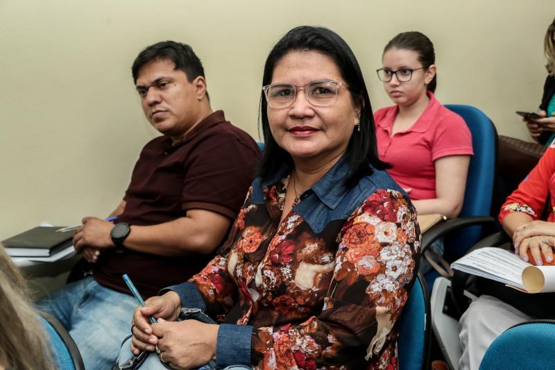 Norma Pantoja, da Agência Distrital de Mosqueiro, foi uma das servidoras que participou do treinamento oferecido pela EGP, e contou sobre sua expectativa para mais uma capacitação