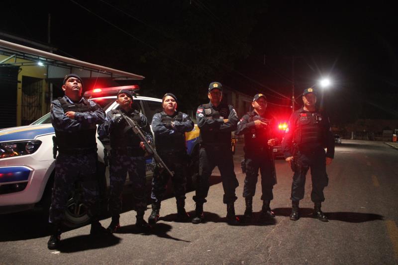 Guarda Municipal e Polícia Militar deram apoio à operação