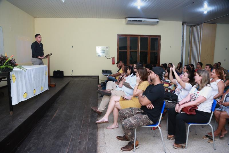 Aula inaugural do Curso Técnico de Cozinha, nesta segunda-feira, 27, marcou o início das atividades da Escola Criativa da Gastronomia de Belém, em Outeiro