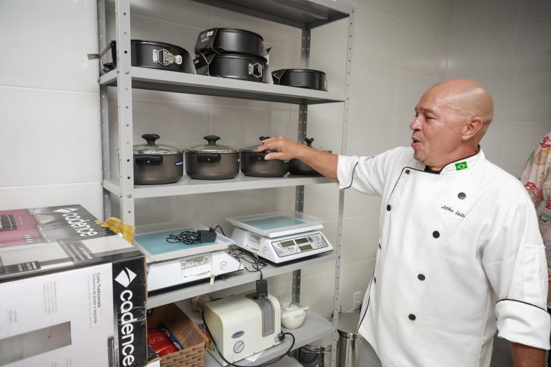 Nova escola está totalmente equipada para as aulas do Curso Técnico de Cozinha