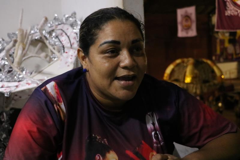 Gisele Morais, 43 anos, diretora do barracão.