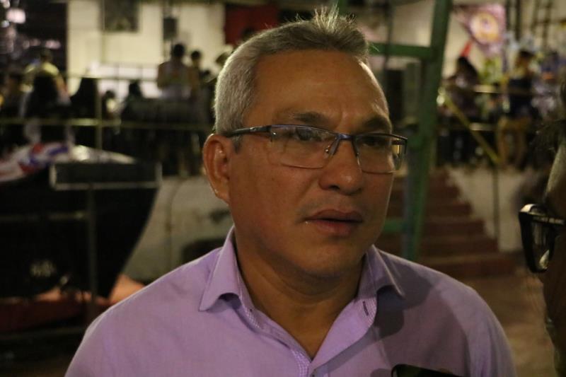 Édson Jair Calandrini, presidente da escola.