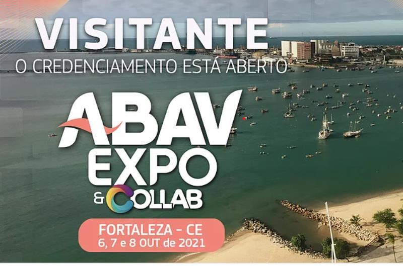 A 48ª ABAV Expo & Collab chega ao Ceará em 2021, de forma híbrida, e reúne toda a cadeia turística em um momento de fortalecimento e preparação para a retomada do setor.
