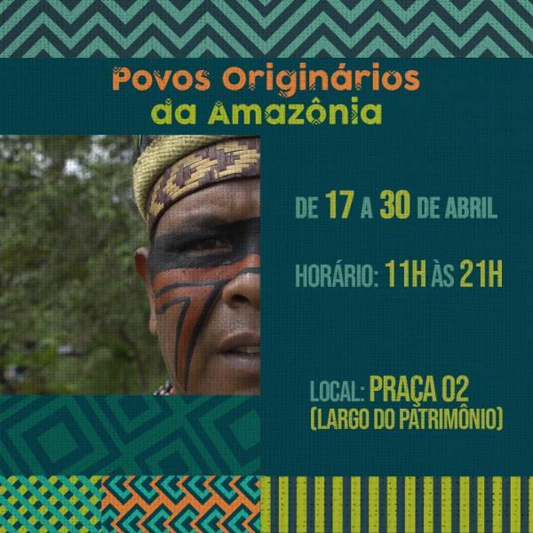 Seis etnias são representadas na exposição: Ka'apor, Munduruku, Palikur-Arukwayene, Tembé, Tupinanbá e Wai Wai.