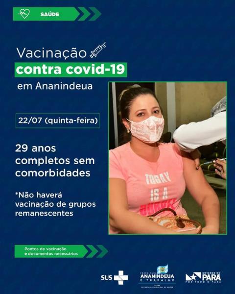 vacinação em Ananindeua