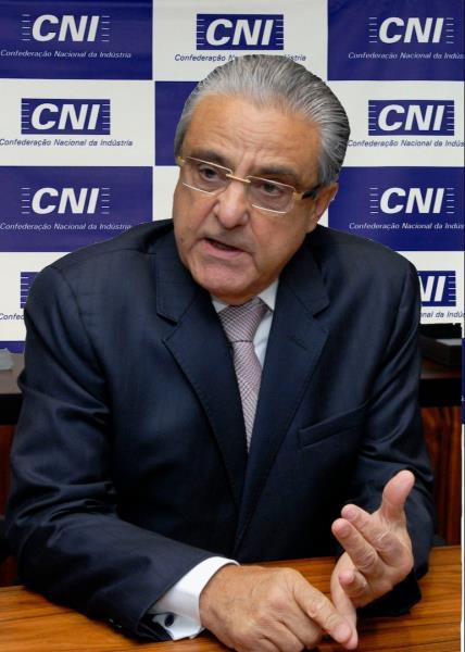 """""""O futuro da indústria e do Brasil depende, mais do que nunca, da implementação da agenda de equilíbrio macroeconômico e reformas estruturais"""", afirma o presidente da CNI, Robson Andrade"""