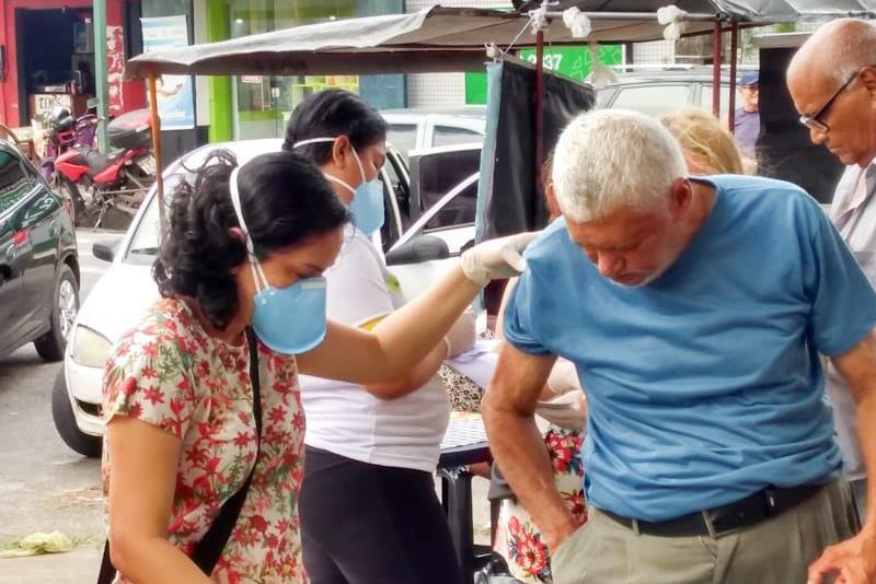 Posto de saúde da cidade nova 4, em Ananindeua.