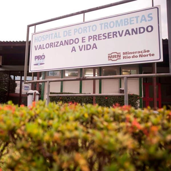 """No hospital Porto Trombetas e ''Albert Einstein"""", os agendamentos serão on-line."""