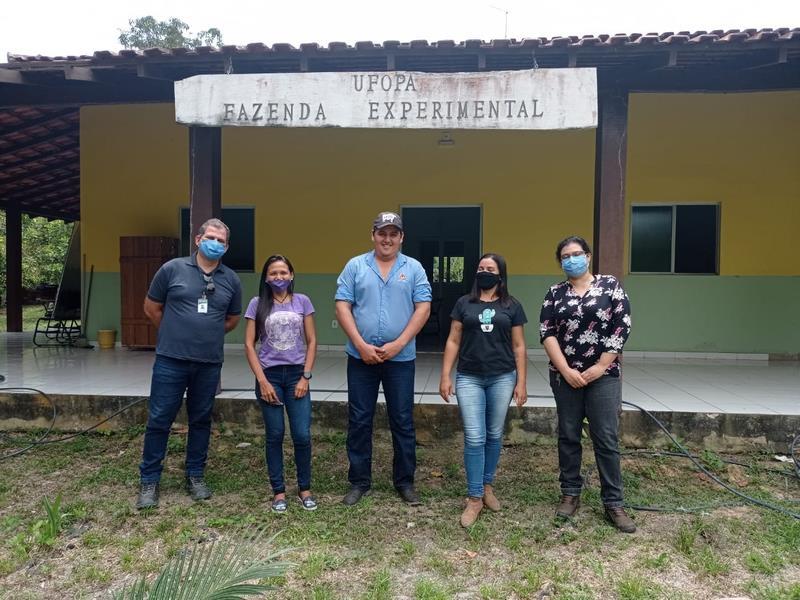 Servidores da Fazenda Experimental