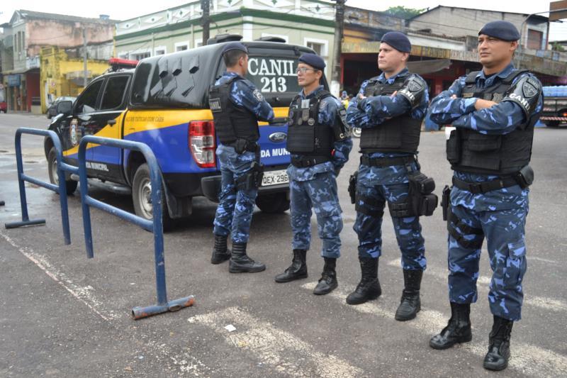 Um esquema de segurança entre agentes da Guarda Municipal de Belém (GMB) e Policia Militar do Estado foi montado para dar mais tranquilidade aos turistas