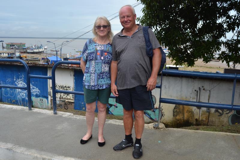 Pela primeira vez no Brasil, um grupo de turistas ingleses ficou maravilhado com toda a receptividade que a Prefeitura de Belém ofereceu a eles