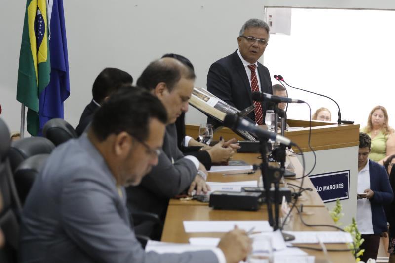 Seguindo os avanços da gestão, o prefeito abordou as melhorias de infraestrutura nas escolas municipais, com o trabalho realizado por meio da Secretaria Municipal de Educação