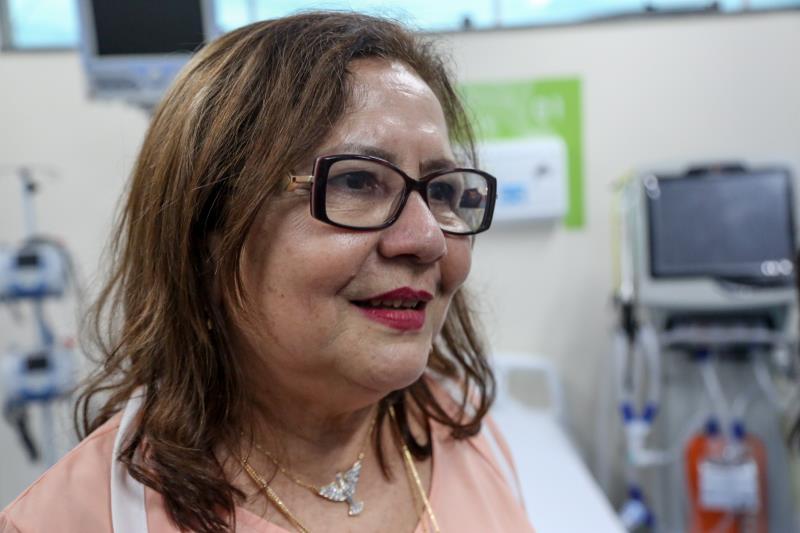 A enfermeira Maria Iracilda Pinheiro é a nova diretora do HPSM do Guamá, ela enfatizou que a humanização vai ser o carro-chefe do hospital