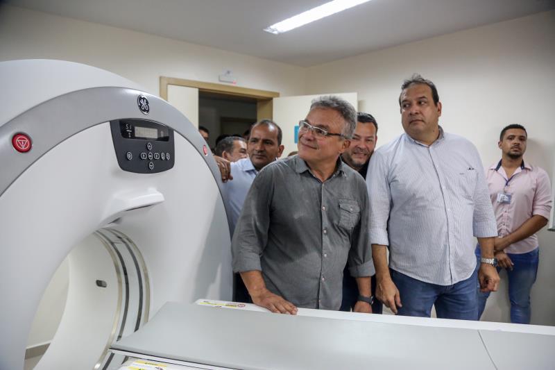 O novo HPSM do Guamá conta com um moderníssimo tomógrafo para exames de imagem