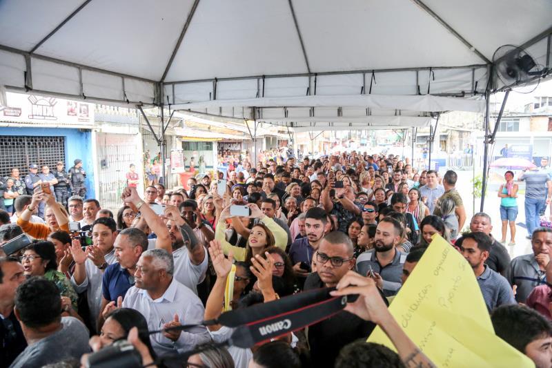 Centenas de moradores do entorno do HPSM do Guamá fizeram questão de conhecer as novas instalações do hospital