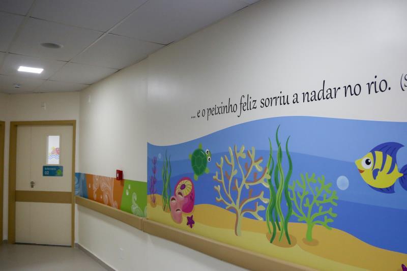 O trabalho humanizado de saúde começa pelo ambiente acolhedor do hospital