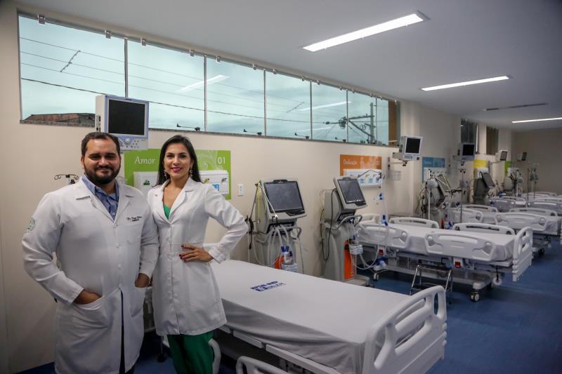 A equipe de profissionais do HPSM do Guamá passou por uma requalificação para atuar novamente no hospital