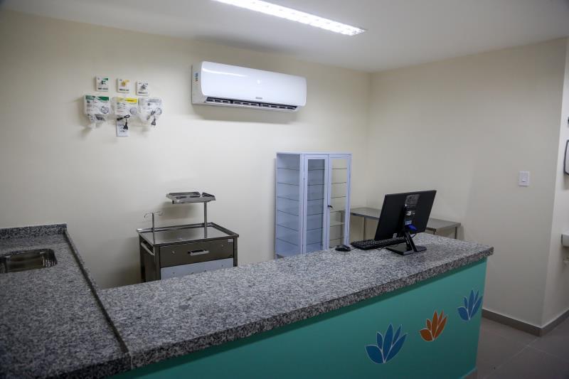 Os postos de enfermagem equipados segundo recomendação do Ministério da Saúde