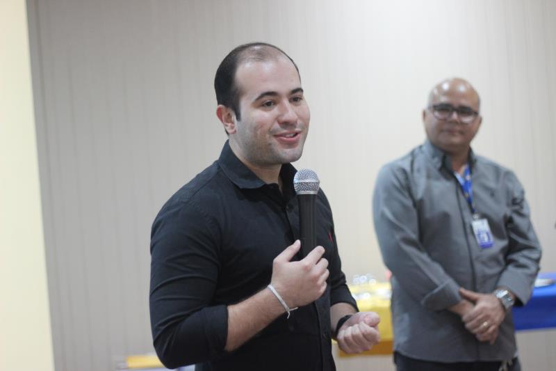 Yan Miranda, administrador regional do Outeiro, disse que o evento estimulou os participantes a refletirem sobre suas posturas diante do entrevistador