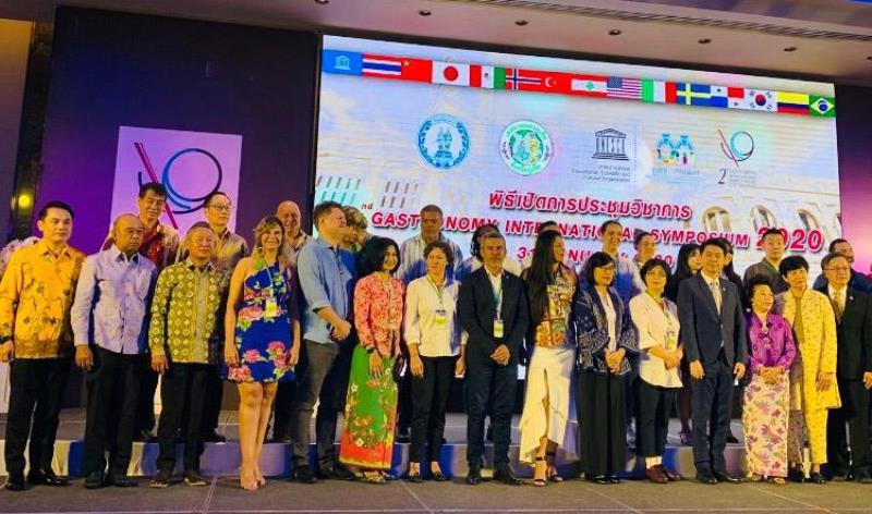 O 2° Simpósio Internacional de Gastronomia 2020, reunião anual da Rede de Cidades Criativas da Unesco, ocorreu em Phuket, na Tailândia, entre os dias 30 de janeiro e 1 de fevereiro