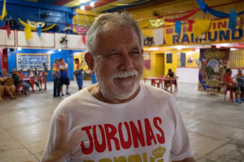 """""""Nós já homenageamos diversas personalidades e instituições. Em 2018, homenageamos Igarapé Mirim, em 2019, Barcarena, como Abaetetuba fica no centro daquela região, resolvemos fazer um tríplex, homenageando também Abaetetuba"""", ressalta o presidente de honra do Rancho, Jango Vidal"""