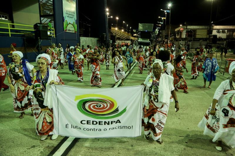 O Bloco do Cedenpa, tradicionalmente, é quem abre o Carnaval Oficial de Belém