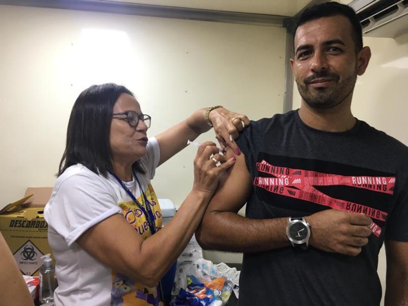Jorge Filho, de 40 anos, destacou que já fez o alerta sobre o sarampo a todos da família